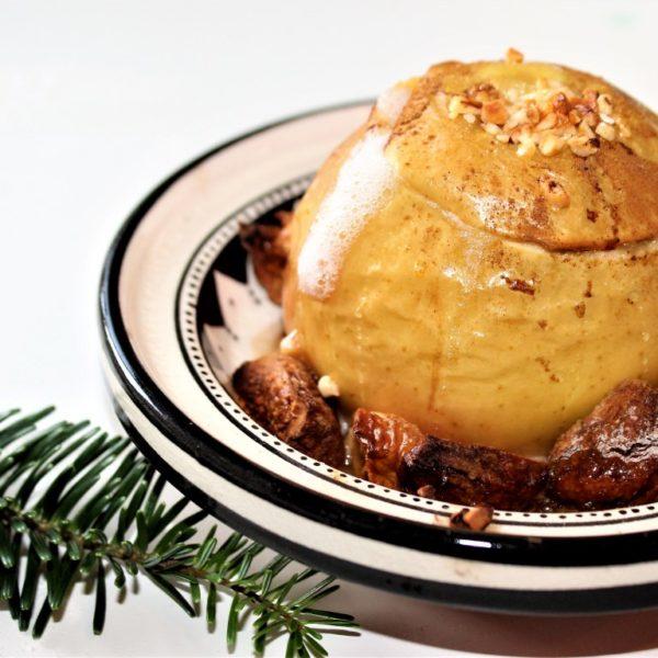 Feiger Bratapfel_Weihnachtsdessert_cosmea.de_Klassische Rezepte (1)