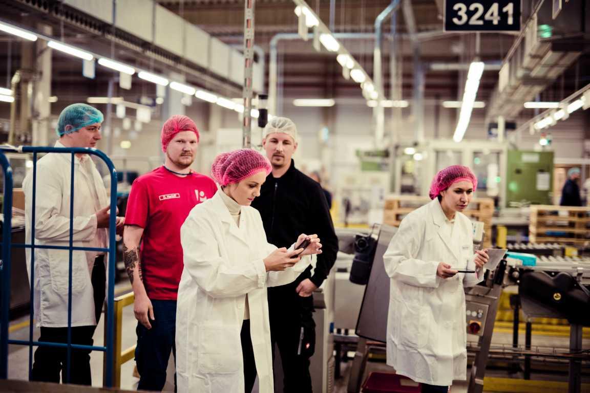 Cosmea Hinter den Kulissen in der Produktion cosmea